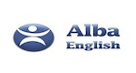 logotipo de alba english school